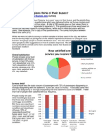 Better Buses Questionnaire August 20121