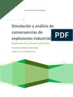 Simulacion y Analisis de Explosiones Industriales