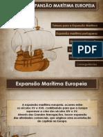 A Expansão Marítima Europeia
