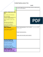 Guided Reading LP Template HS