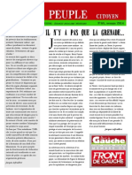 Le peuple n°40, novembre 2014