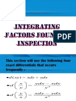 Integrating Factors Found by Inspection.pptx