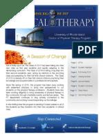URI DPT Newsletter (Edition 2 vol. 1)