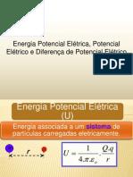 FA Energia Potencial Eletrica Potencial Eletrico e Diferenca de Potencial Eletrico