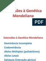 Extensões genética mendeliana