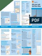 Plan Wall Tiling