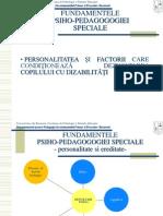 PpsC2 Personalit Factori Dizabilitati