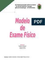 MODELO DE EXAME FÍSICO