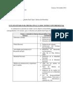 Guía de Estudio Para Prueba Final I Lapso. Instrucción Premilitar