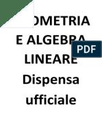 Geometria E Algebra Lineare(Materiale Cherubini Completo)