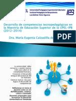 MAESTRÍA EN EDUCACIÓN SUPERIOR EVENTO DE CIERRE 2014