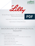 Eli Lilly's Project Resilience (A)