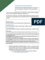 Especificaciones Para El Informe de Hidrologia