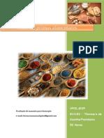 UFCD 8239 Matérias-primas Alimentares