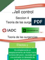 Well Control Seccion 4 -Teoria de Las Surgencias