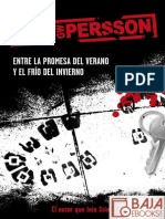 Entre La Promesa Del Verano y e - Leif G. W. Persson