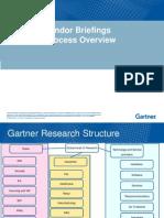 Vendor Briefing Overview