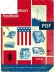 ARRL Handbook 1976