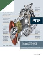 Siemens SGT5 4000F Gas Turbine