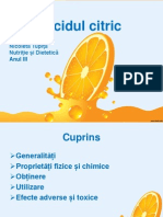 Acidul citric