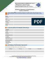 Formular Recrutare Formatori CRFCAPL Cluj-Napoca 2013