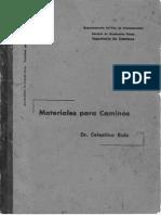 Materiales Para Caminos - Dr. Celestino Ruiz