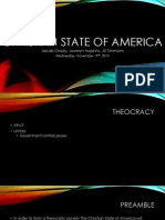 christian state of america ppt