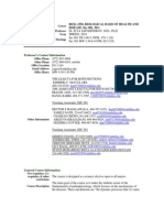 UT Dallas Syllabus for biol3350.001.10s taught by Ilya Sapozhnikov (isapoz)