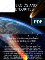 Asteroids and Meteorites