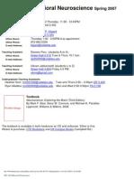 UT Dallas Syllabus for nsc3361.001.07s taught by Michael Kilgard (kilgard)