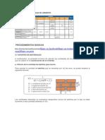 Dosificación Para Mezclas de Concreto
