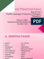 Laporan Presentasi Kasus PL ECCE3