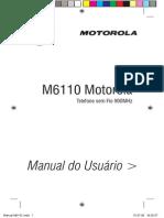 Manual M6110 Motorola