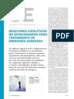 Reactores Catalicos No Estacionario completo