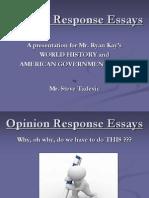 opinion response essay tadevic