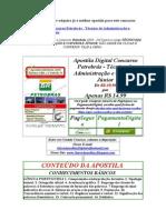 Apostila Digital Concurso Petrobras Tecnico de Administracao e Controle Junior Gratis Baixar Download 2009 2010