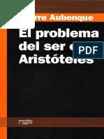 El Problema Del Ser en Aristoteles