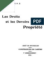 Les Droits Et Les Devoirs de La Propriete 000000711