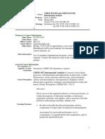 UT Dallas Syllabus for chem3472.002.07s taught by Lynn Melton (melton)