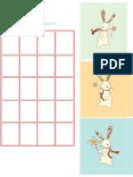 Eva Sticker Chart