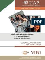 Estadistica e Informatica Aplicada Maestría