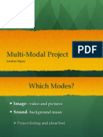 multi-modal presentation