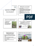 Epidemiologia en Plantas