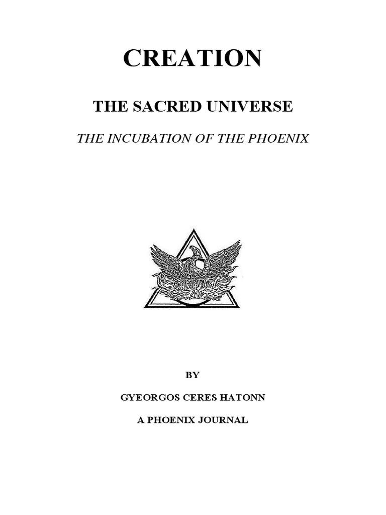 Creation The Sacred Universe New World Order Politics Israel Bare Board Printed Circuit Boards Phoenix Dynamics