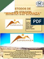 Presentacion Metodos-Minera Esperanza