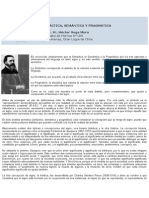 Sintáctica, Semántica y Pragmática