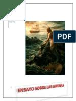 Sebastian Temporal Gonzalez -Ensayo Sobre Las Sirenas