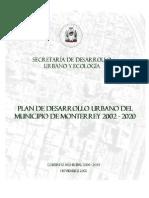Plan de Desarrollo de Mty