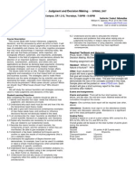 UT Dallas Syllabus for psy4374.501.07s taught by William Spence (wkspence)