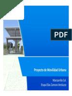 Movilidad Urbana Manzanillo, Elías Zamora 2014